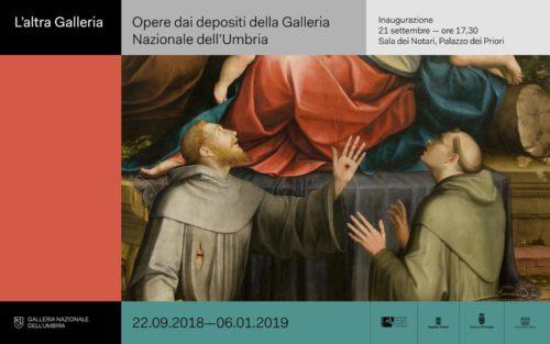 """Galleria Nazionale dell'Umbria. Al via la mostra """"L'altra galleria"""", una selezione di opere raramente esposte"""