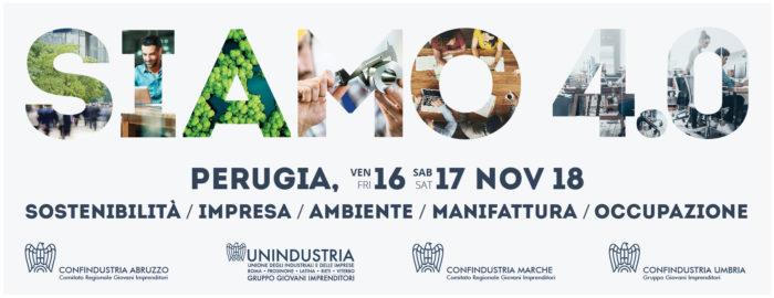 Giovani Imprenditori Confindustria: l'Umbria ospita il Forum annuale dell'Interregionale del Centro