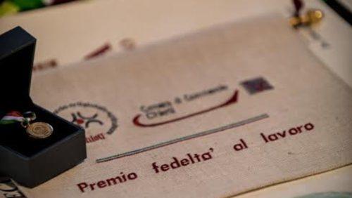 Premio Fedeltà al Lavoro 2019 – Camera di Commercio di Terni