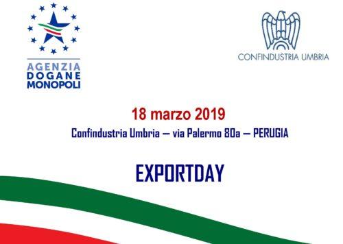 Documentazione seminario Exportday 2019