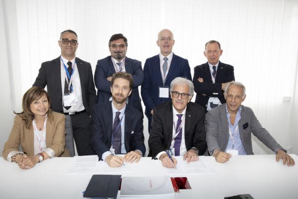 Umbria Aerospace Clusteral Salone internazionale dell'Aeronautica di Parigi-Le Bourget