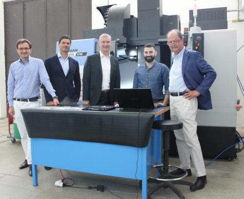L'Agenzia Spaziale Europea visita l'azienda umbra RF Microtech