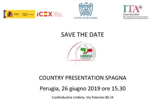Internazionalizzazione. Country Presentation Spagna