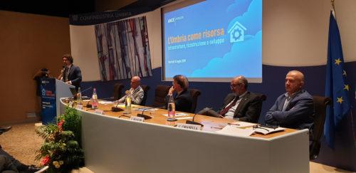 Il ministro delle Infrastrutture e dei Trasporti Toninelli ospite dell'assemblea di Ance Perugia