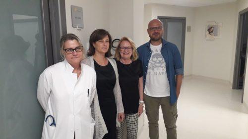 Clinica Porta Sole: la presidente dell'Assemblea legislativa dell'Umbria visita la nuova sede a Monteluce