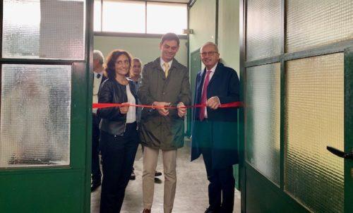 """Inaugurati i laboratori di Elettrotecnica e Misure elettriche dell'ITT """"Allievi Sangallo"""" di Terni"""