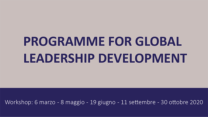 "Umbria Business School – ""Programme for Global Leadership Development"""