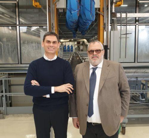 Fucine Umbre: l'assessore regionale Michele Fioroni in visita all'azienda di Terni