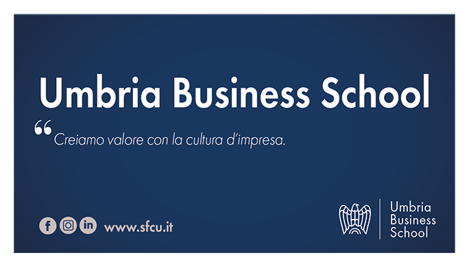 "Umbria Business School. Corso ""Project Management"""