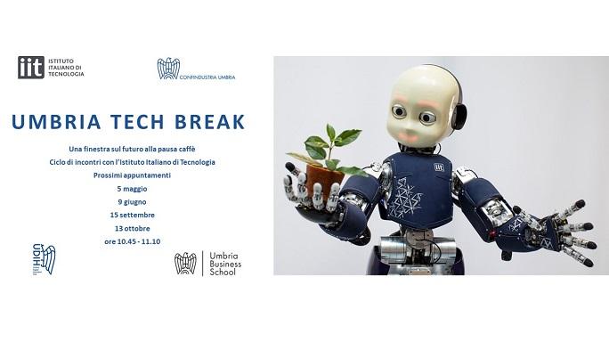 Umbria Tech Break: proseguono gli incontri online con l'IIT sulle nuove tecnologie