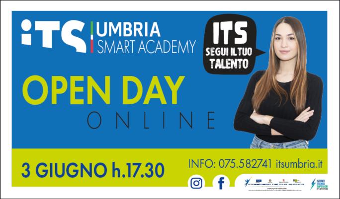 Formazione. ITS Umbria Smart Academy: Open Day online giovedì 3 giugno