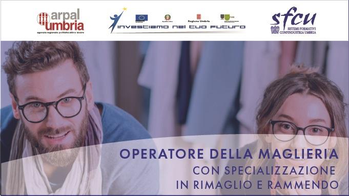 """Formazione: nuovo corso per """"Operatore della maglieria con specializzazione in rimaglio e rammendo"""""""